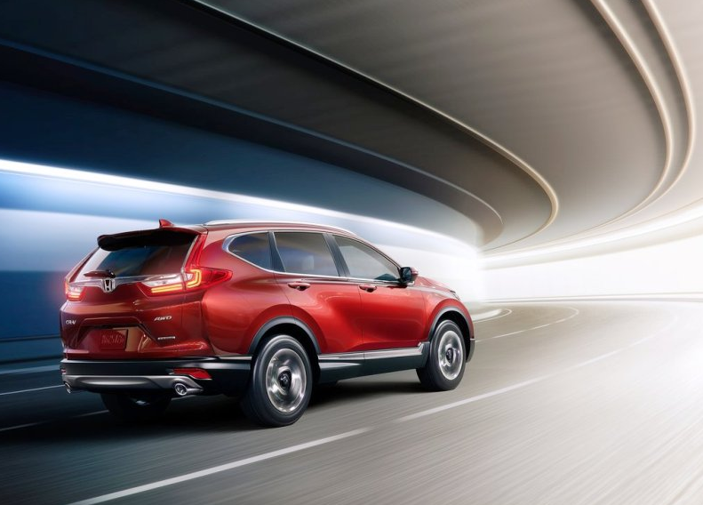 Хонда СРВ 2018 года в новом кузове