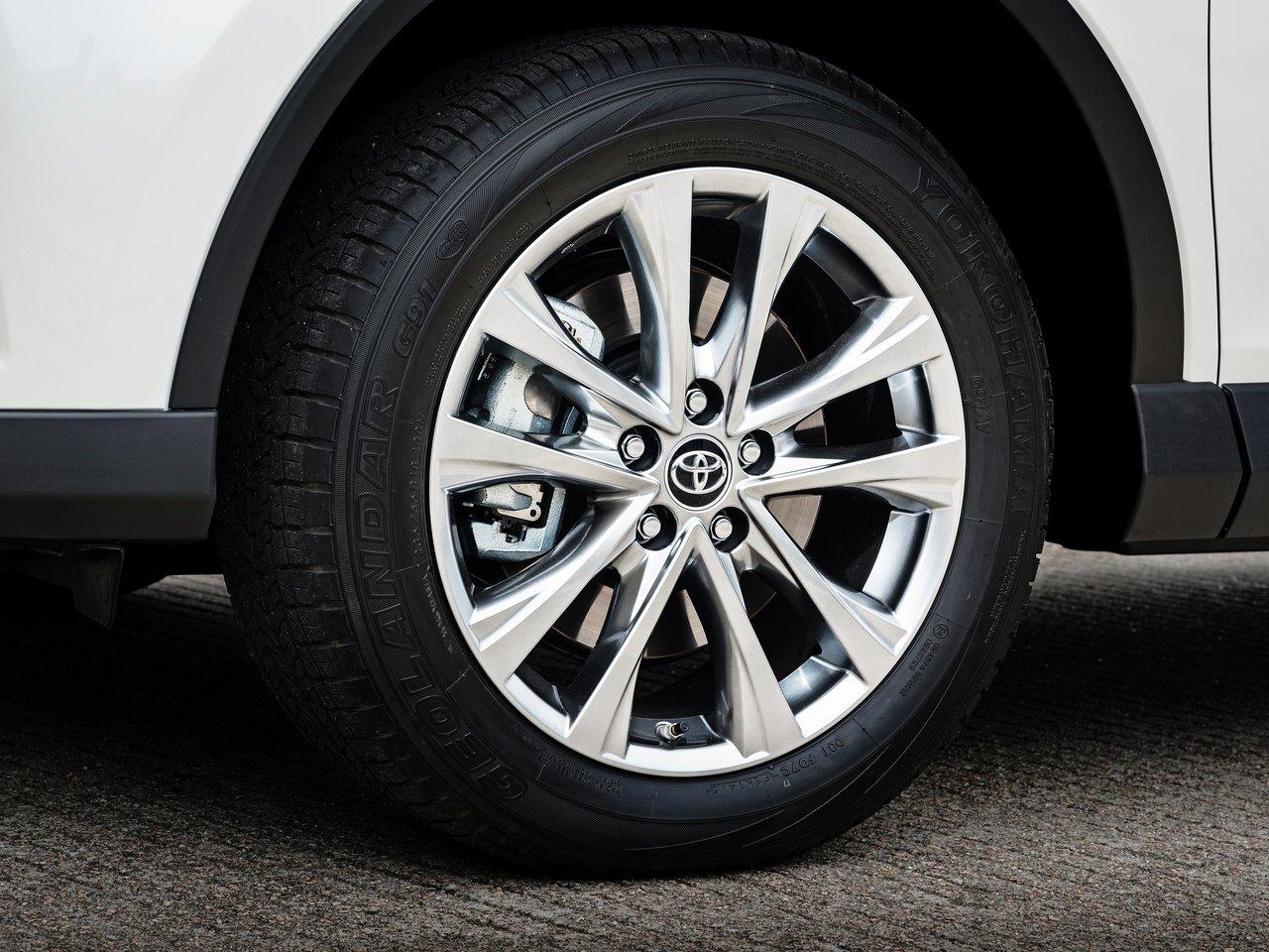 Колеса Тойота Рав 4 2018 года
