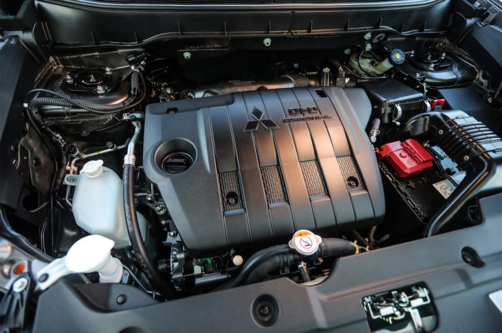 Двигатель Мицубиси АСХ 2018